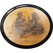 Black Memorabilia Wooden Plaque