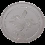 Sasaki Crystal Salad Plate: Wings