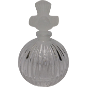 Sasaki Crystal Perfume Bottle: Wings