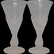 Sasaki Crystal Stemware Cordials: Wings