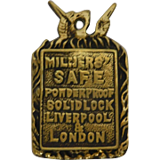 Milners' Safe London Lock Panel