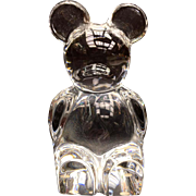 Orrefors Glass Bear Paperweight