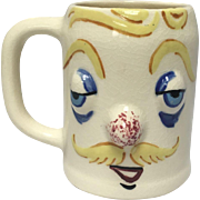 """Handsome Herman """"Muggsy"""" Mug From The Pfaltzgraff Pottery Co. Designed by Jessop"""