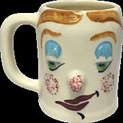 "Flirty Gertie ""Muggsy"" Mug From The Pfaltzgraff Pottery Co. Designed by Jessop"