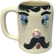 """Cockeyed Charlie  """"Muggsy"""" Mug From The Pfaltzgraff Pottery Co. Designed by Jessop"""