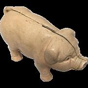 Vintage Cast Iron Piggy Bank/Door-Stop
