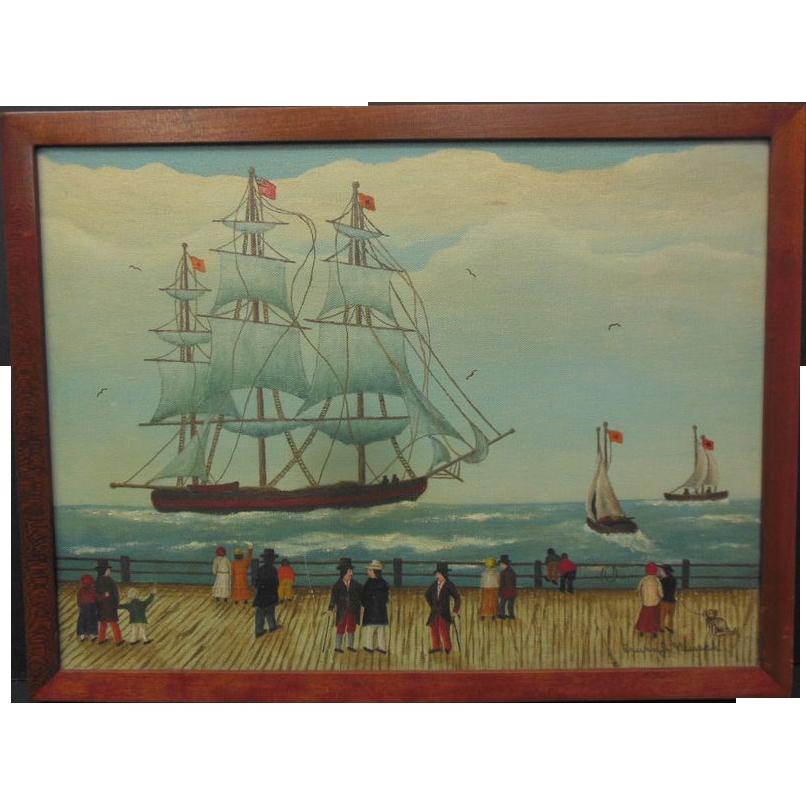 """""""Clipper Ship"""" by Erwin J. Neusch"""