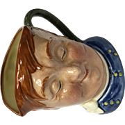 "Vintage Royal Doulton English Toby Jug, ""Fat Boy"" model"