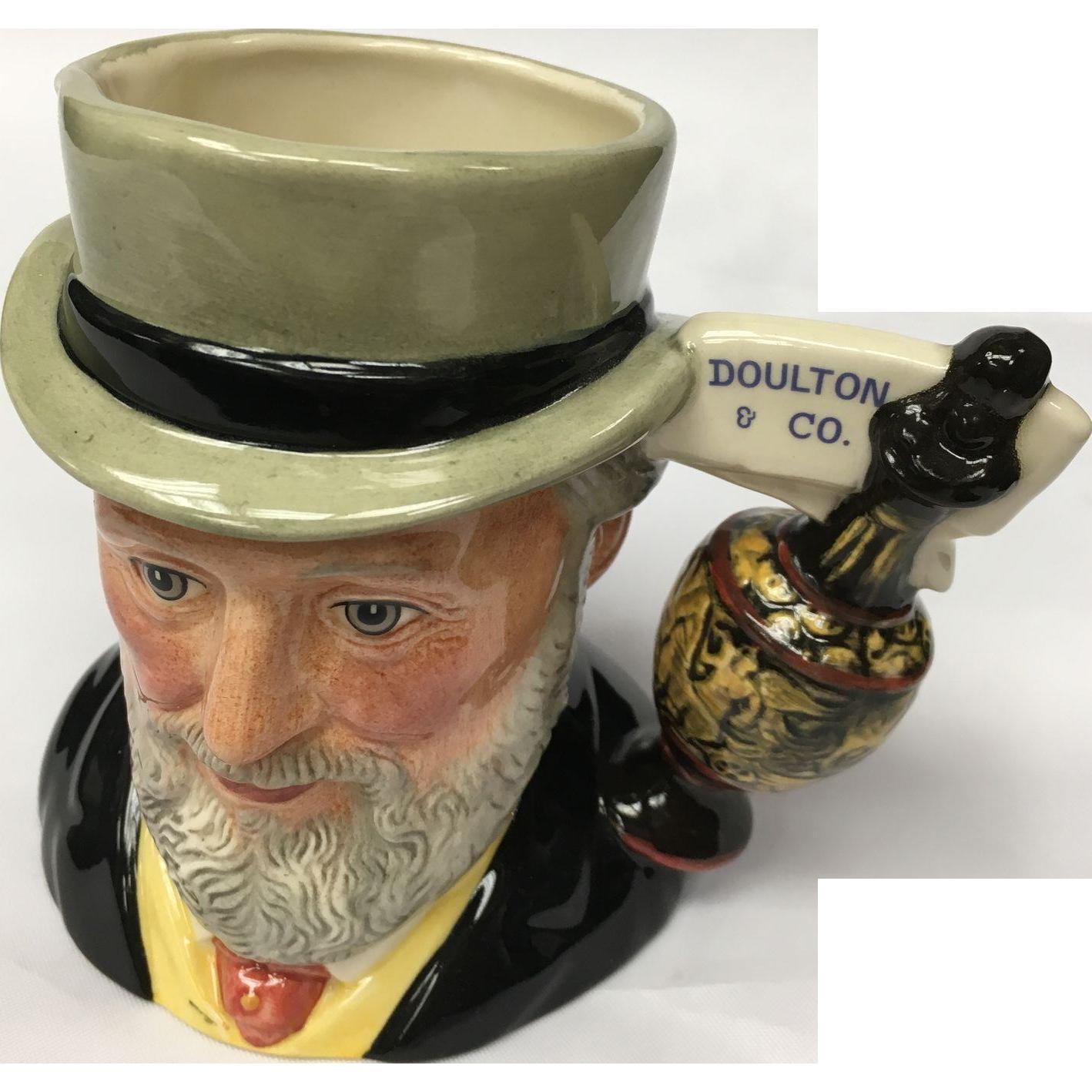 "Vintage Royal Doulton English Toby Jug, model ""Sir Henry Doulton"""