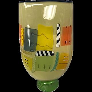 Bruce Pizzichillo Funky Vintage vase
