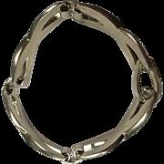 Sterling Silver (.935) Designer Grosse Dior German Bracelet