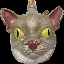 Weaver's Whimsical Jugs Pottery Cat Face Jug