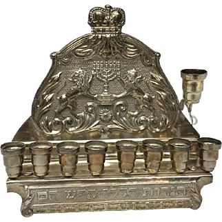 Details about  Beautiful Sterling Silver Menorah