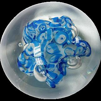 Aquatic Glass paperweight