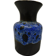Blue West German Vase Jasba