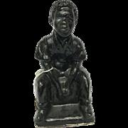Black Memorabilia Statue
