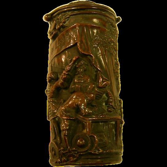 Bronze Match Safe or Vesta