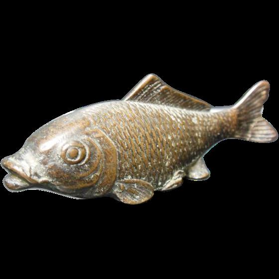 Bronze Japanese Koi Fish
