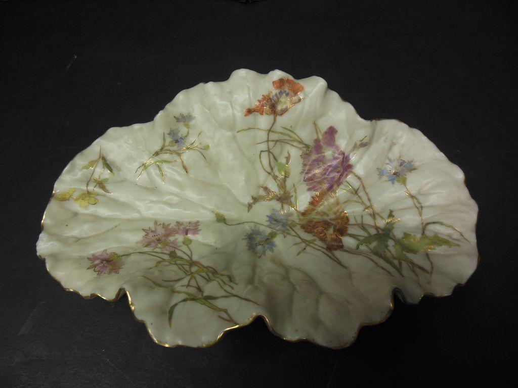 Royal Worcester Leaf Plate