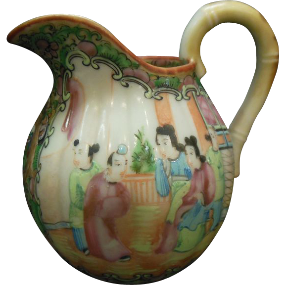 Rose Medallion Pitcher