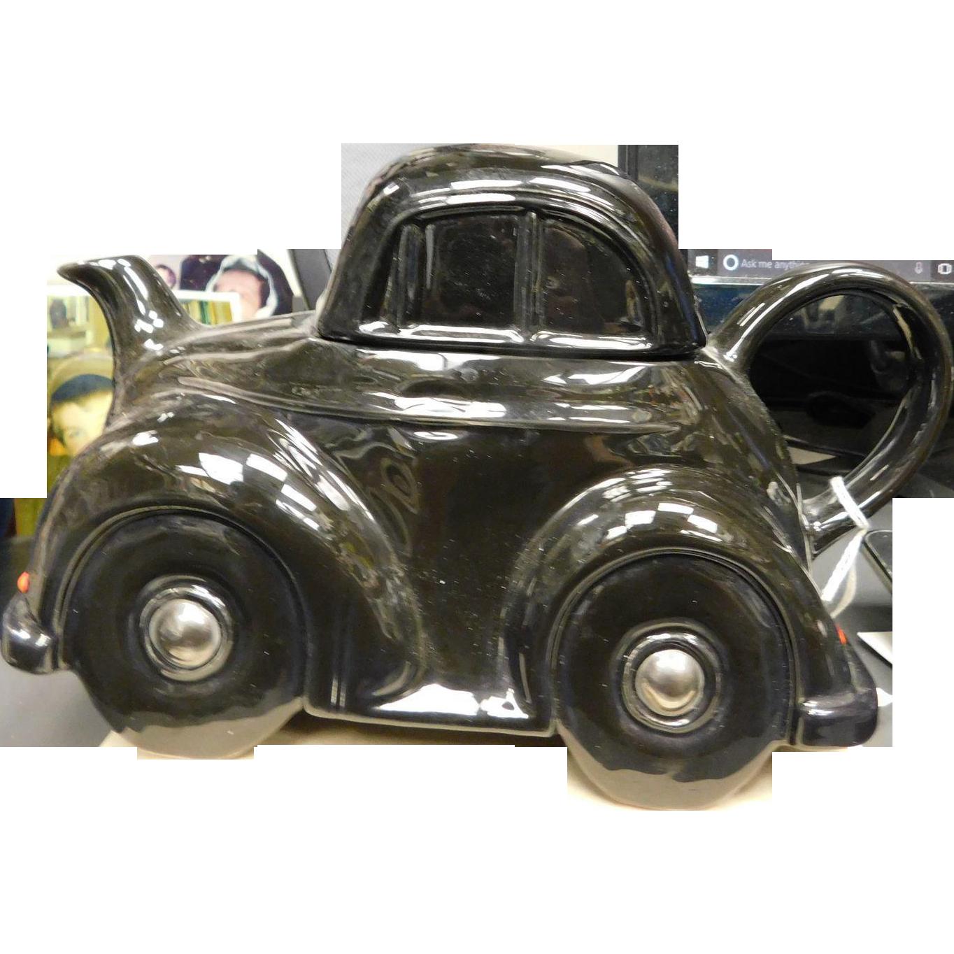CarltonWare Figural Teapot - Morris Minor Auto