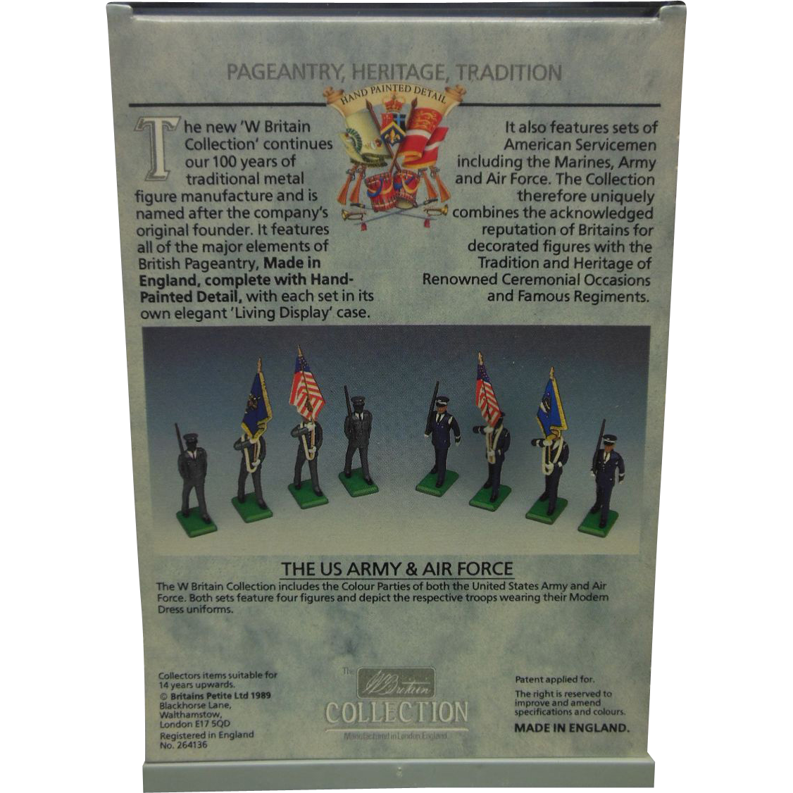 Britains US Army rare hand painted army figures