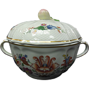 Richard Ginori China - Handled Sugar Bowl