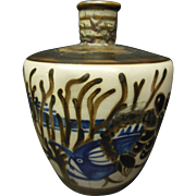 "French ""Primavera"" Art Deco Vase"