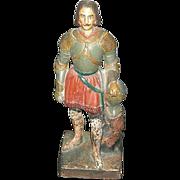 Victorian Ceramic Roman Statue