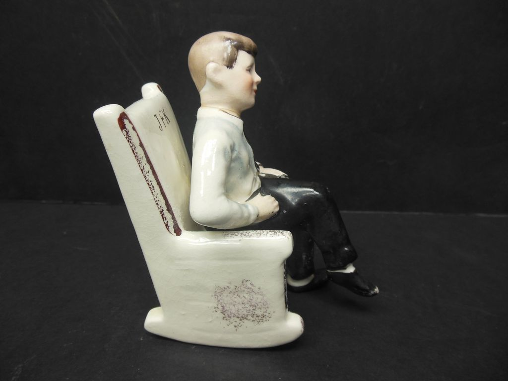 John F. Kennedy Rocking Chair Salt & Pepper Shaker From Antiquegal On . Full resolution  portraiture, nominally Width 1024 Height 768 pixels, portraiture with #5E473E.