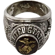Ceremonial United States Marines Signet Ring, Tun Tavern 1775