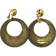 Vintage Designer Earrings by Roni Blanshay