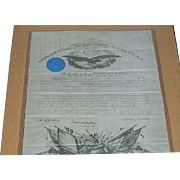 "Civil War Soldier Breveted for Bravery at ""Battle of Gettysburg""; Captain Thomas Benton Reed Collection 140 Pc. Group, including 4 Presidential Signatures !!!"