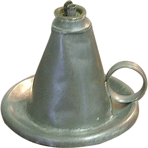 "Signed American Pewter ""Smith & Co."" Whale Oil Lamp Ca.1847-49 from Boston,Mass.!"