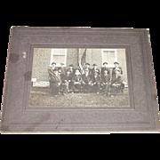 Civil War Veteran GAR Post # 571 Safe Harbor,Lancaster County,Pa.Group of Sixteen Men Photo  !     Photo Ca. 1920.