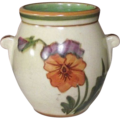 "Rare Miniature ""Weller Pottery"" Flower Vase !!!"
