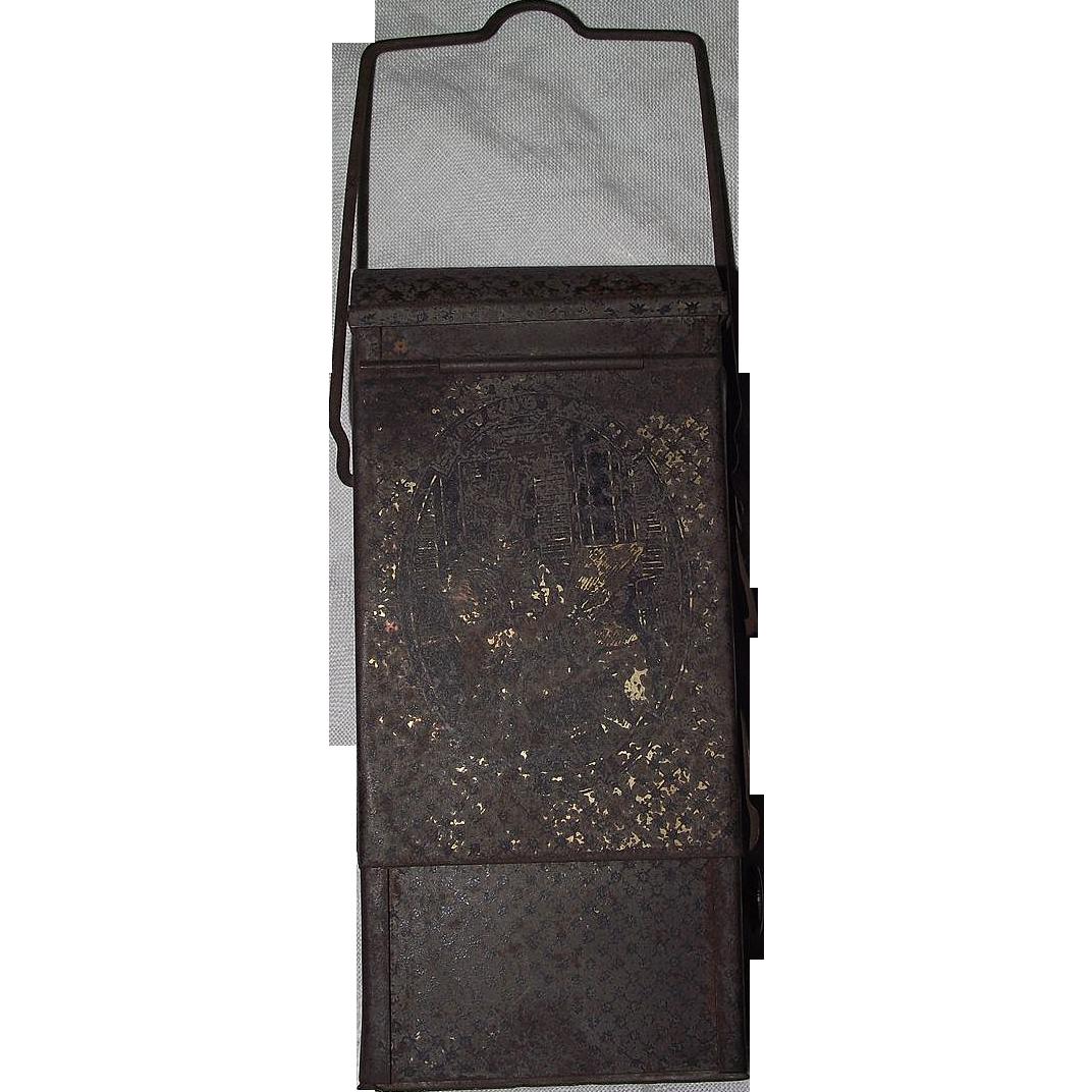 "Rare Original ""Steven's Patent""  Pocket / Skating Lantern !!!  Ca. 1875."
