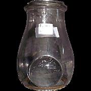 Ham's No. 8 Lantern Globe with Bullseye Lens !!!  Patent Dated 1880's.