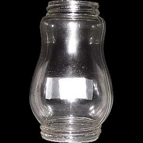 Choice Skater's Lantern Globe in excellent original condition Circa 1900 !