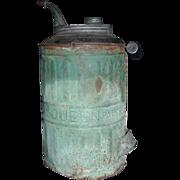 """Queen"" Model Kerosene Jug patented 1878."