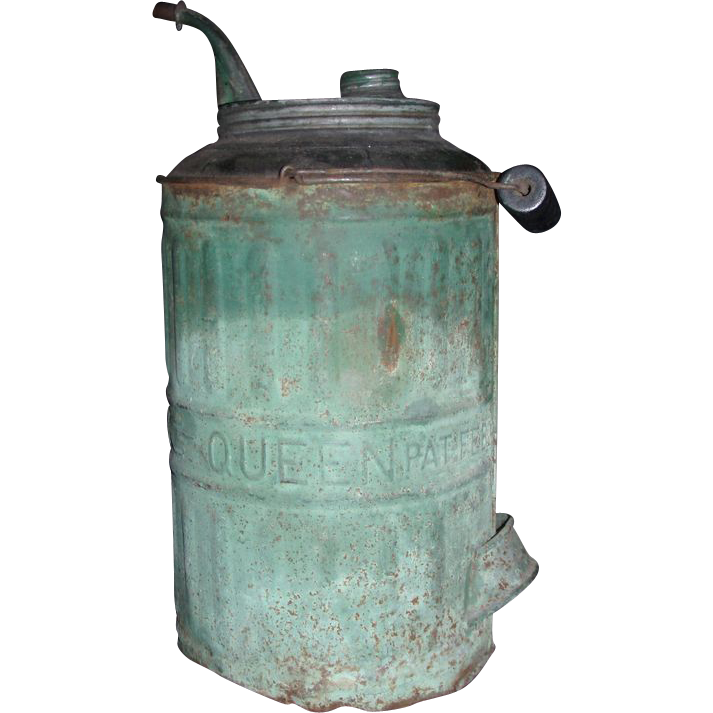 """Queen"" Model Kerosene Jug patented 1878."