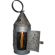 """Paul Revere Type"" Candle Lantern ! Circa 1820-50's."