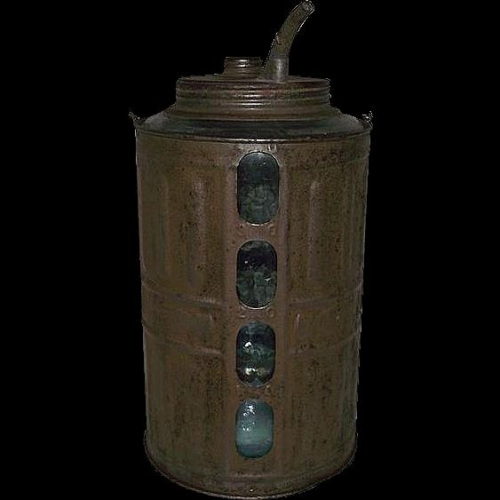 """""""Queen"""" Model Kerosene Jug Patent Dated 1878 !"""