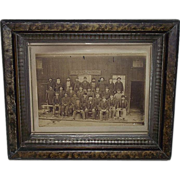 Rare Lehigh Valley Railroad Car Inspectors Group Photo in Mauch Chunk,Pa. (present day) Jim Thorpe,Pa. !!!