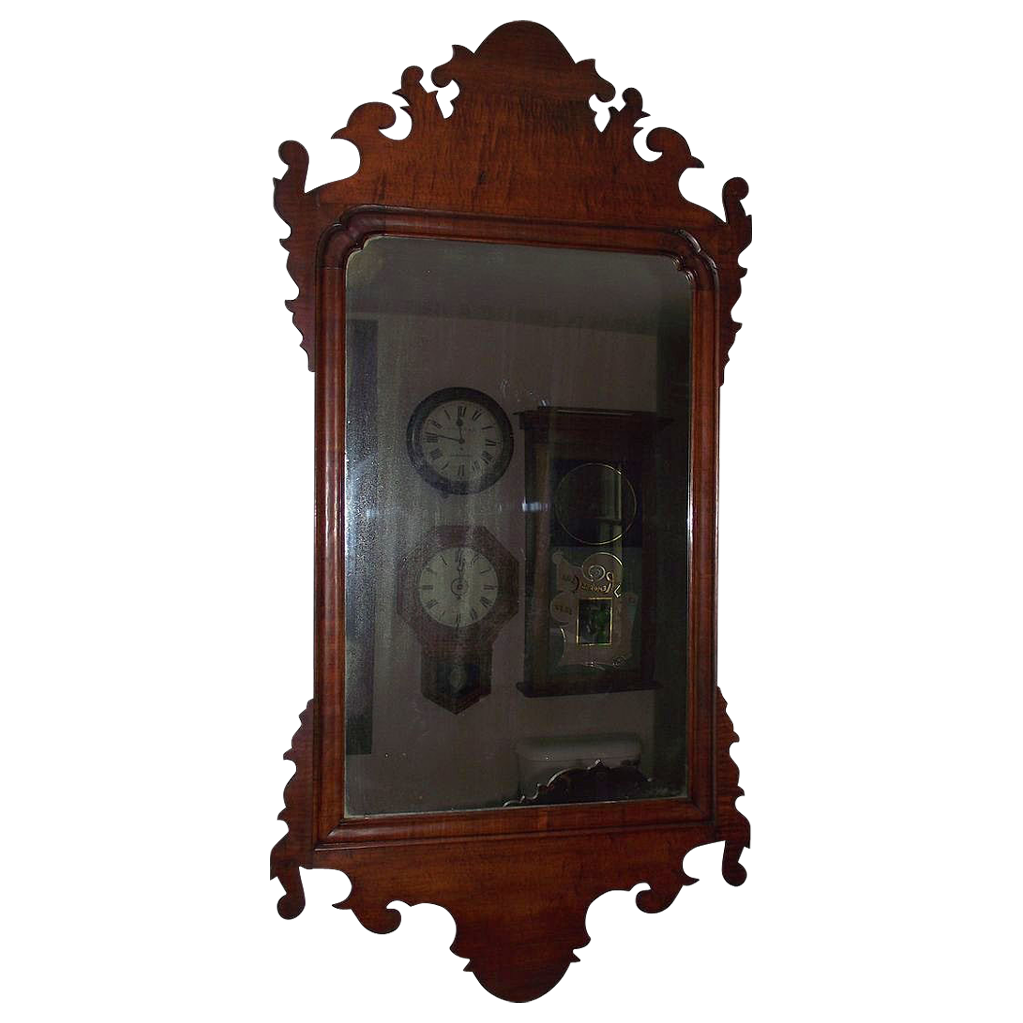 Historic Coleman Mansion Estate Chippendale Mirror with Provenance Letter !!!