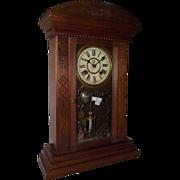 "Rare Smallest Weight Driven New Haven ""Ganges"" Model Shelf Clock !!! Circa 1881."