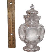 """Super Miniature """"Show Jar"""" from a Candy or Drug Store Circa 1900 !!!"""