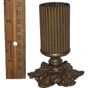 "Rare ""Brass Match Holder"" with Removable Base !!!"