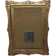 Brass Photo Frame Patent Dated Oct.29,1901 !!!