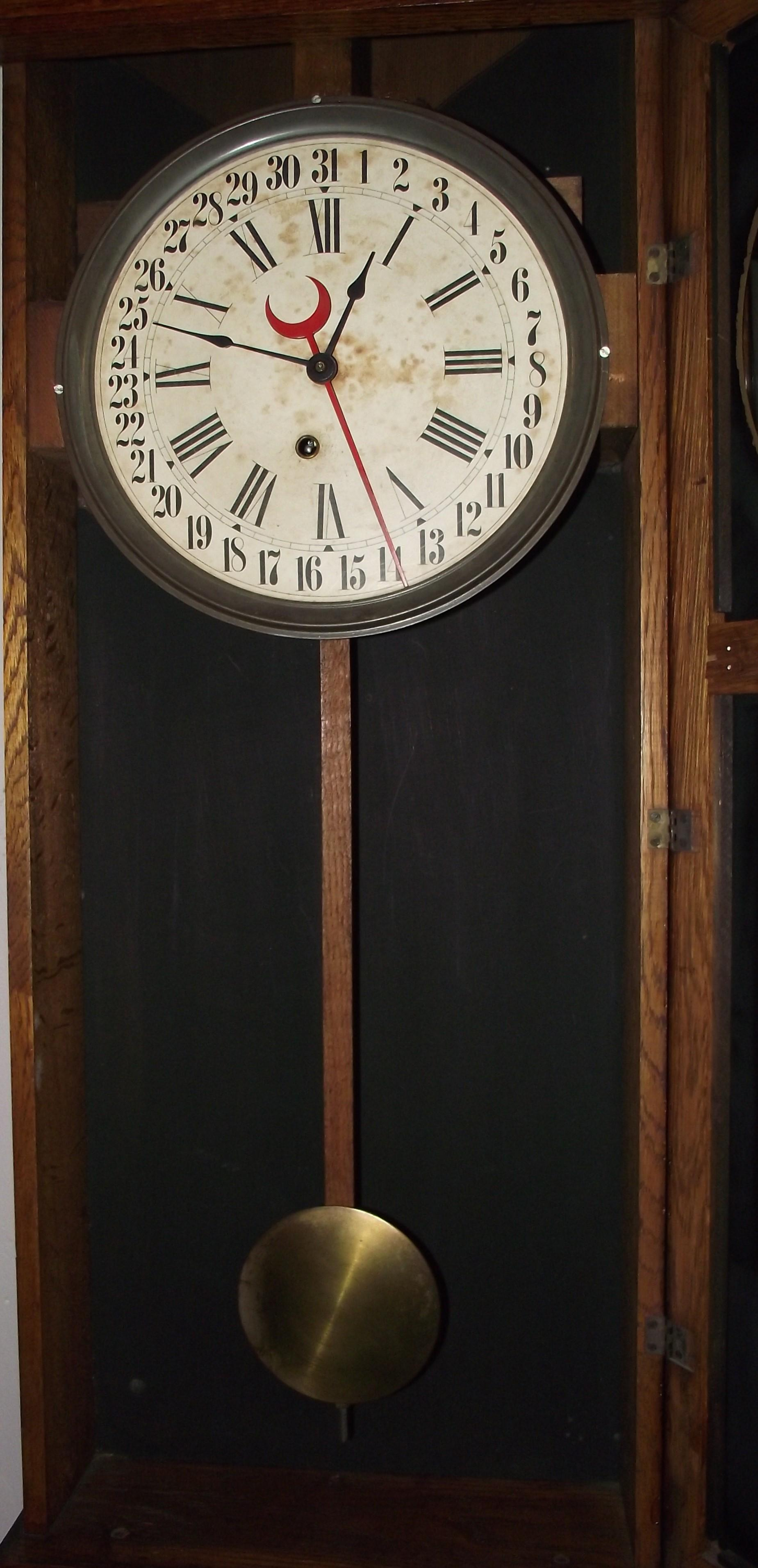 Elverson Pa Country Store Clock Quot Landau Quot Model Made By Quot E